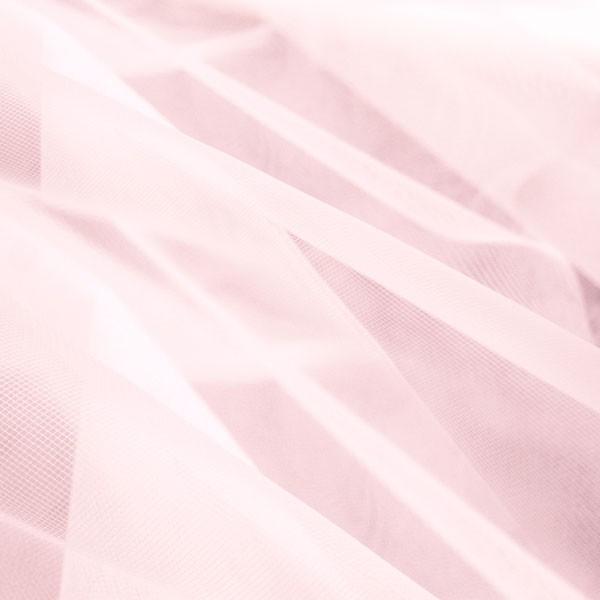 Tüllrest No. 1112 (ähnlich zum Feintüll Illusion, palest pink)