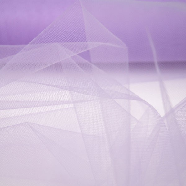 Tulle Remnant No. 952 (Fine Tulle, lilac)