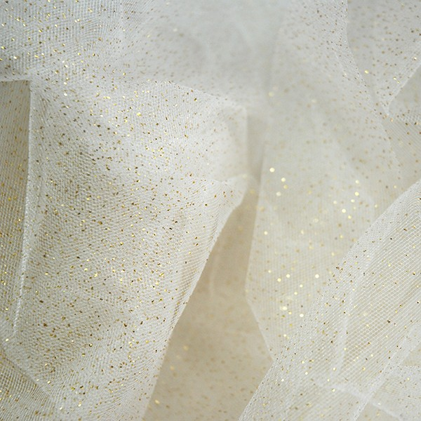 Sparkling Tulle Glitter Dream silk-gold