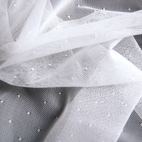 Tulle Remnant No. 1124 (Elastic Tulle Tokyo, silk)