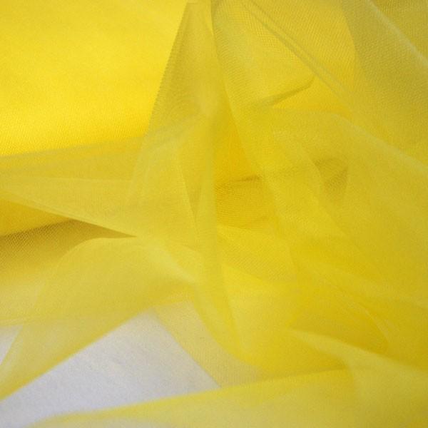 Tüllrest No. 1126 (Glitzertüll T5SP, lemon)