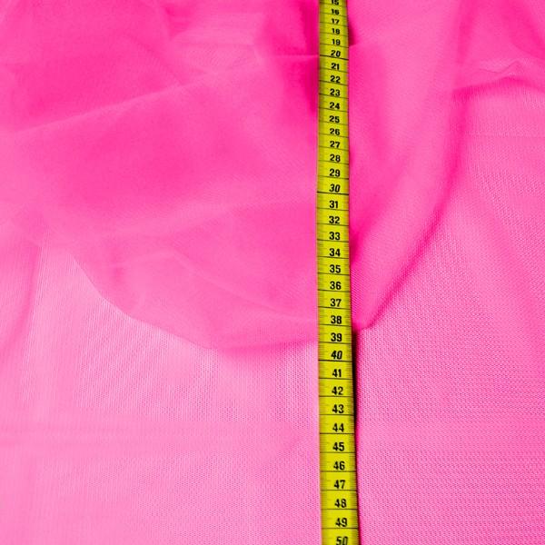Tüllrest No. 1003 (Feintüll Cottex Fine, deep pink)