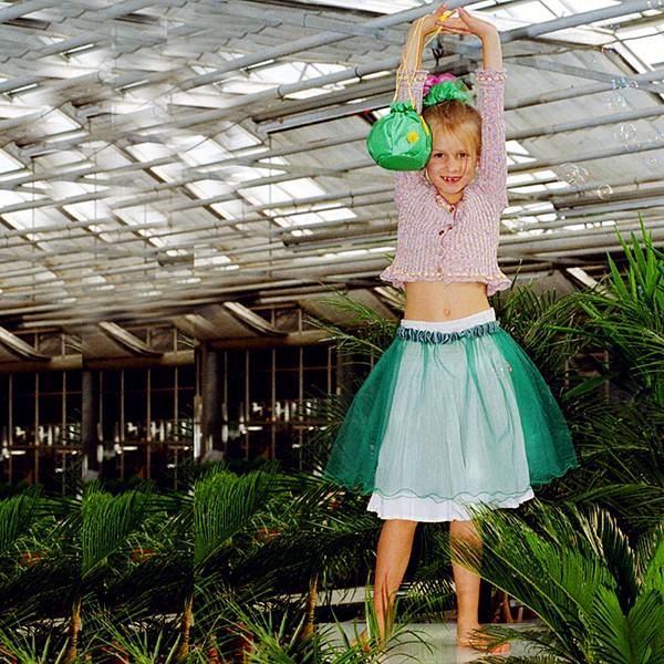 Fairy Skirt deep mint - perigord