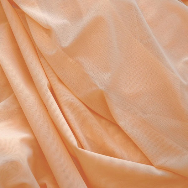 Tulle Remnant No. 1356 (Elastic Tulle Venice, nude)
