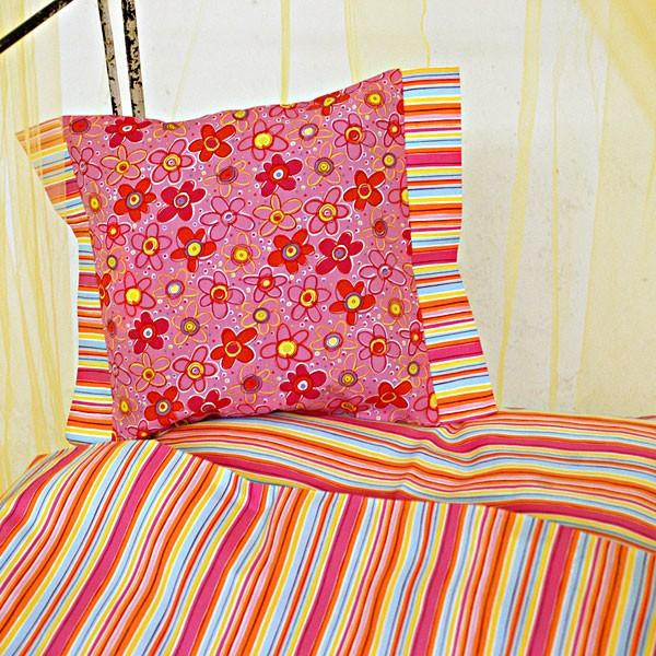 Bett-Set Sunny Stripes