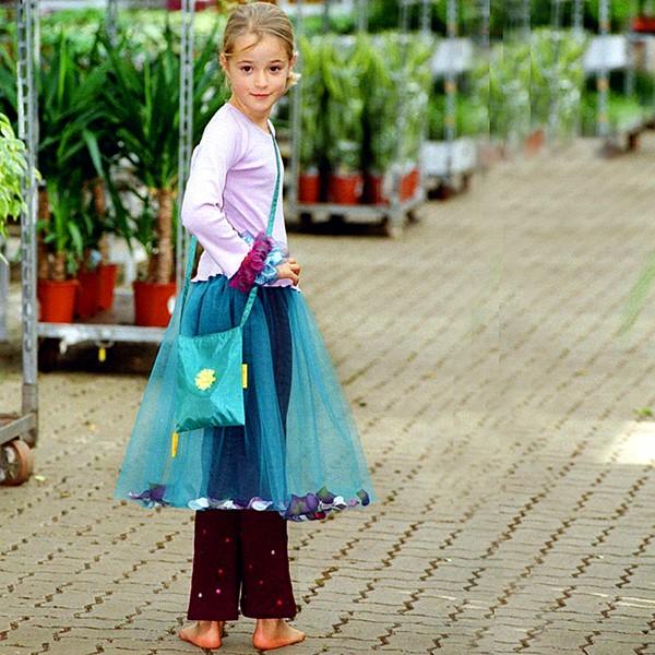 Flower Dream Skirt deep mint