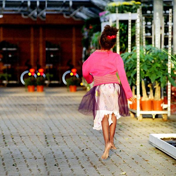 Tulle Skirt antique mauve