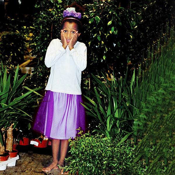 Tulle Skirt violet