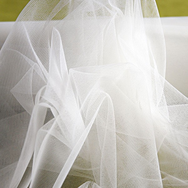 Tulle Remnant No. 1326 (similar to Fine Tulle Cottex Fine, silk)