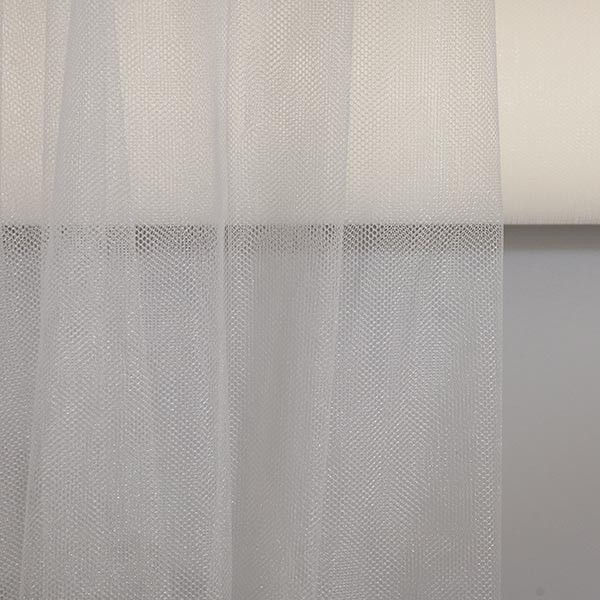 Tulle Remnant No. 980 (Fine Tulle Illusion, ivory)