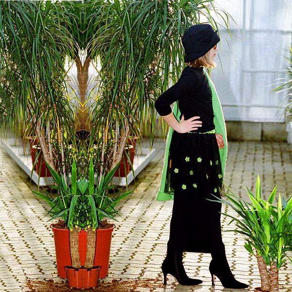 Flower Dream Skirt ebony