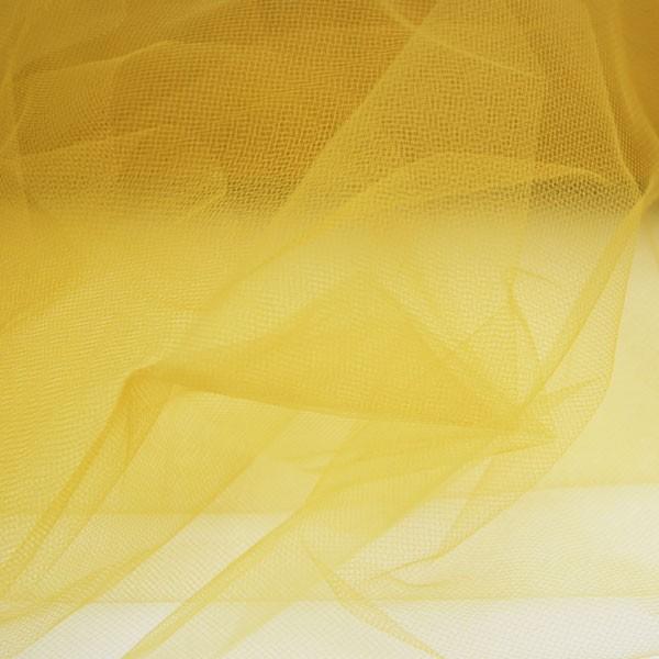 Tüllrest No. 1165 (Feintüll T5, mustard)