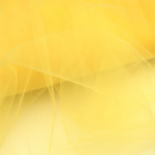 Tulle Remnant No. 1118 (Fine Tulle T5, lemon)