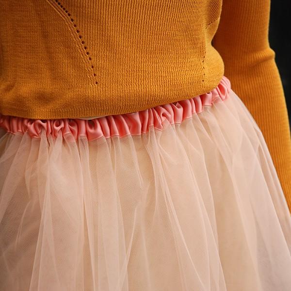 Flower Dream Skirt peach