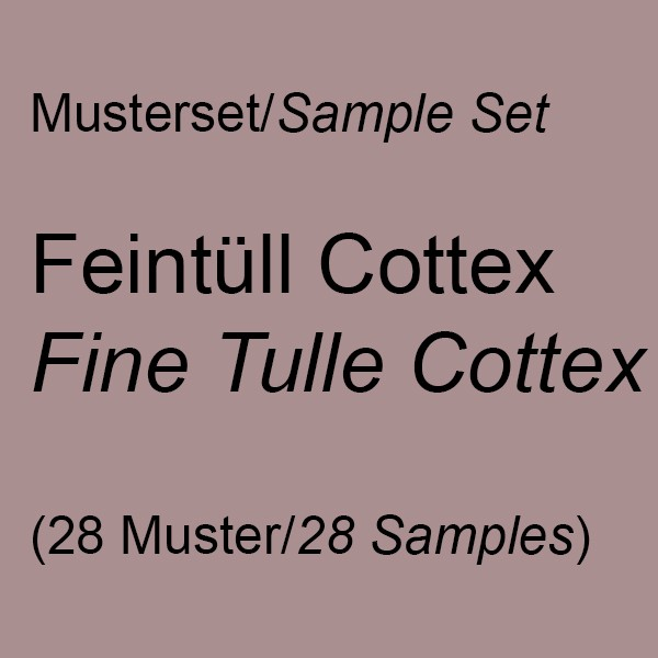 Sample Set Cottex